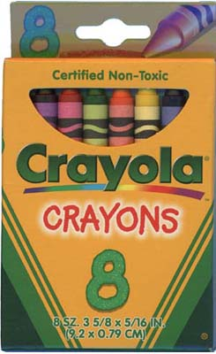 Crayon pack of 1998