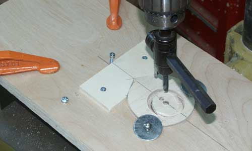 cutting booster centering ring