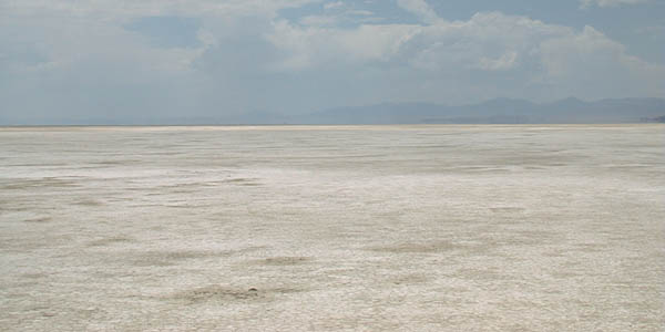 the beautiful Salt Flats
